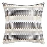 Black and Tan Pieces Pillow
