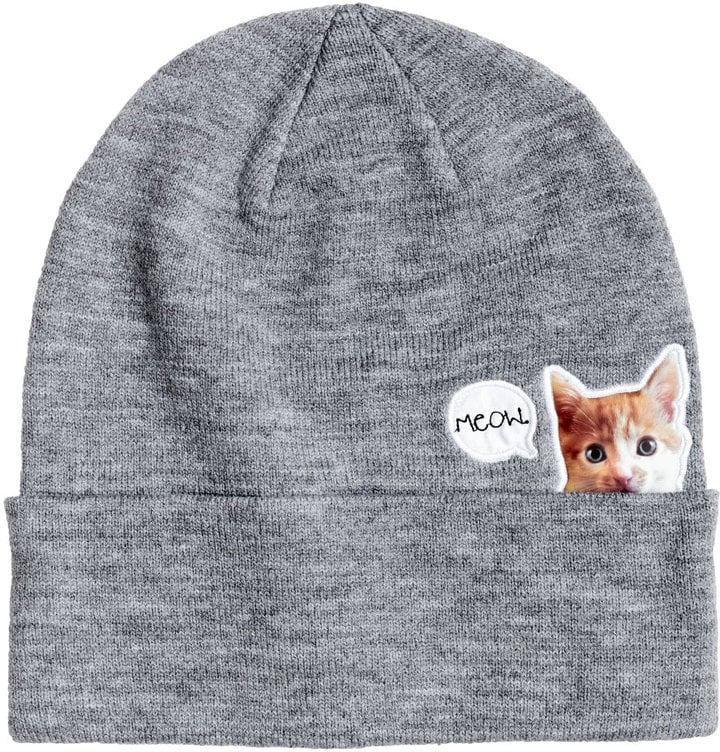 H&M Fine-Knit Hat  ($10)