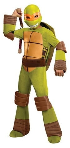 Teenage Mutant Ninja Turtles Michelangelo Deluxe Costume
