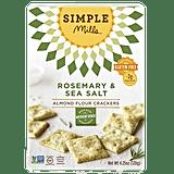 Simple Mills Rosemary & Sea Salt Crackers