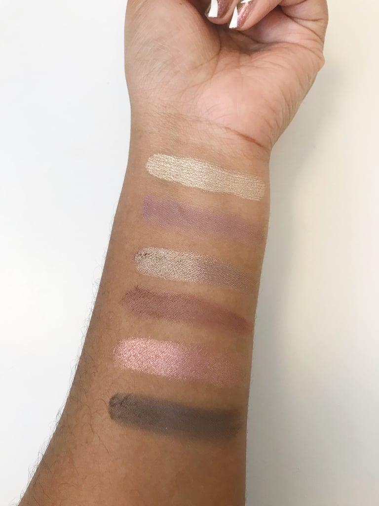 Gigi Hadid x Maybelline New York Eye Shadow Palette in Cool Swatches