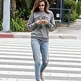 Alessandra Ambrosio's Sub_Urban Riot Coffee Sweatshirt
