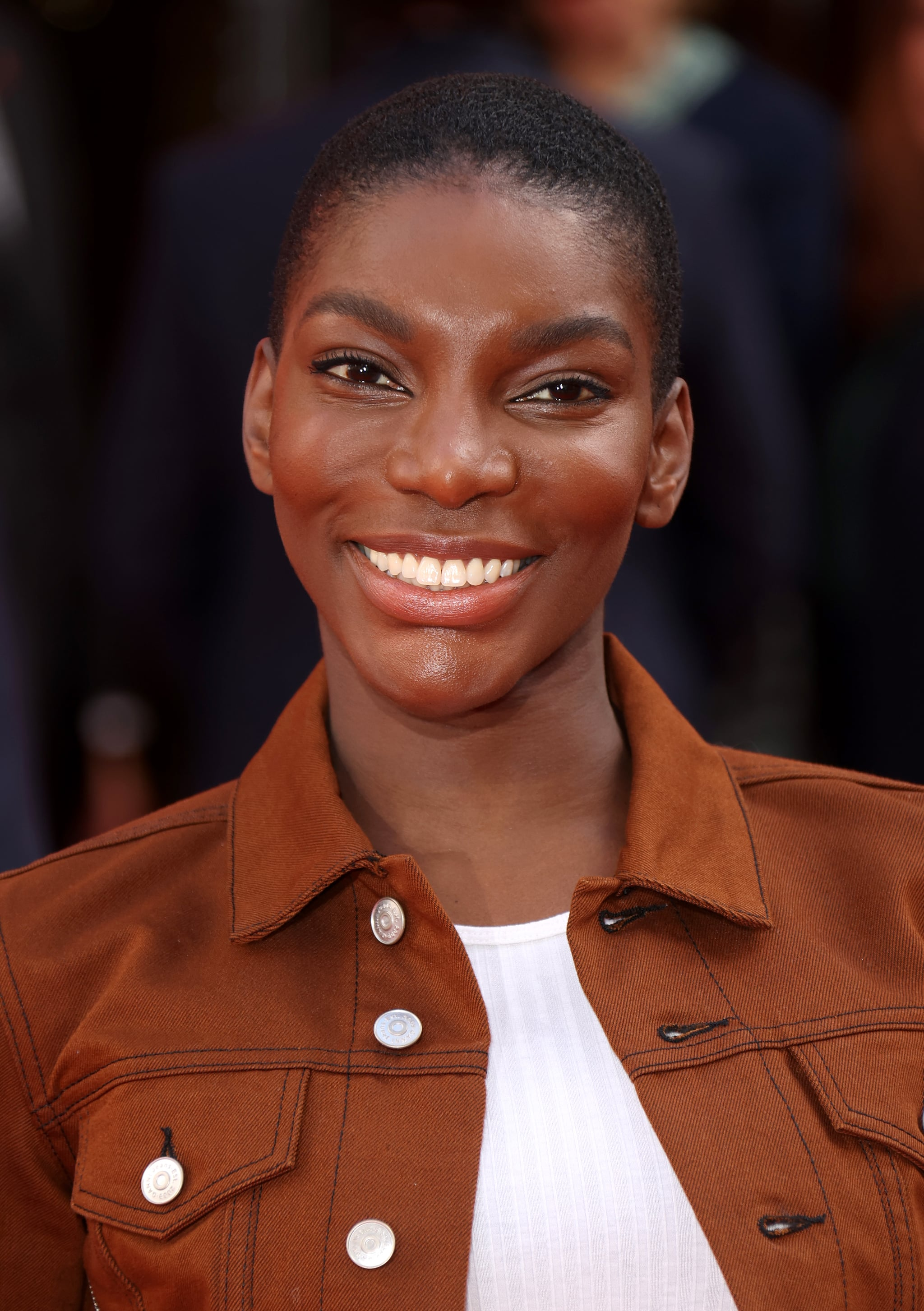 LONDON, ENGLAND - MARCH 11: Michaela Coel attends the Prince's Trust And TK Maxx & Homesense Awards at London Palladium on March 11, 2020 in London, England. (Photo by Mike Marsland/WireImage)