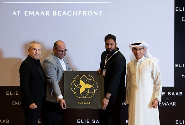 And, The First Dubai Star Goes To... Lebanese Fashion Designer Elie Saab