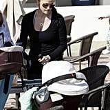 Bridget & Little John Lunch In LA