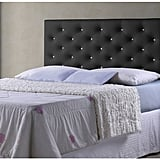 Faux Leather Tufted Headboard ($125)