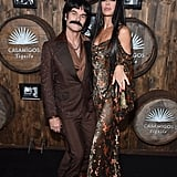 Harry Hamlin and Lisa Rinna as Sonny and Cher in 2016