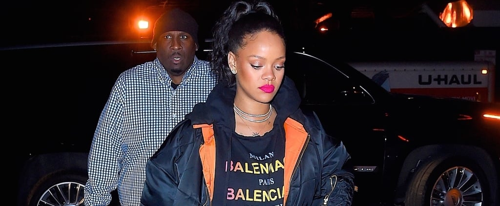 Rihanna's Wearing a Huge Diamond Ring on THAT Finger — and She Hasn't Taken It Off