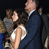 Channing wrapped his arms around Jenna at a dance gala in August 2015.