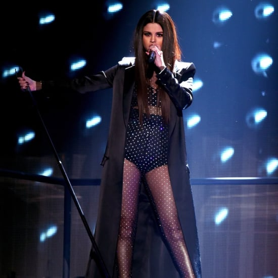 Selena Gomez Performing at the 2015 AMAs Pictures
