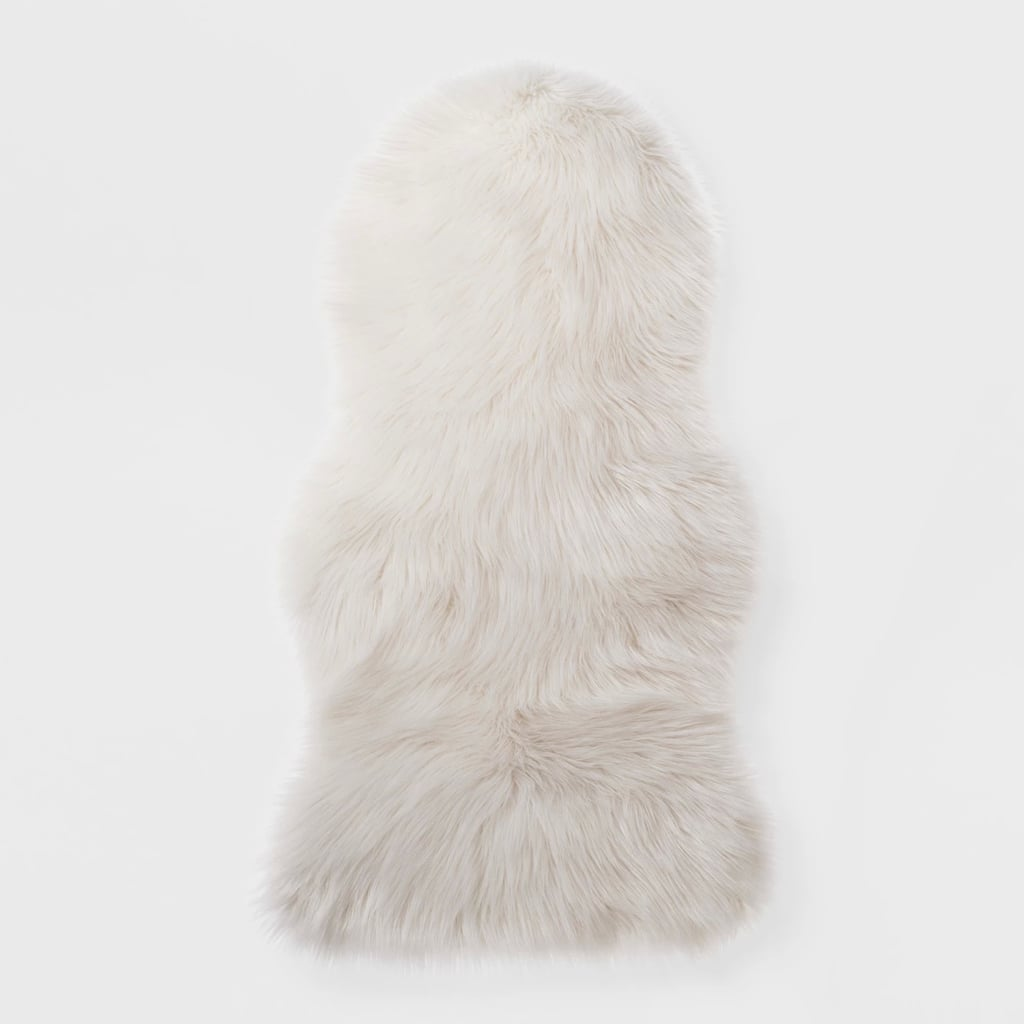 Faux Fur Pelt Throw