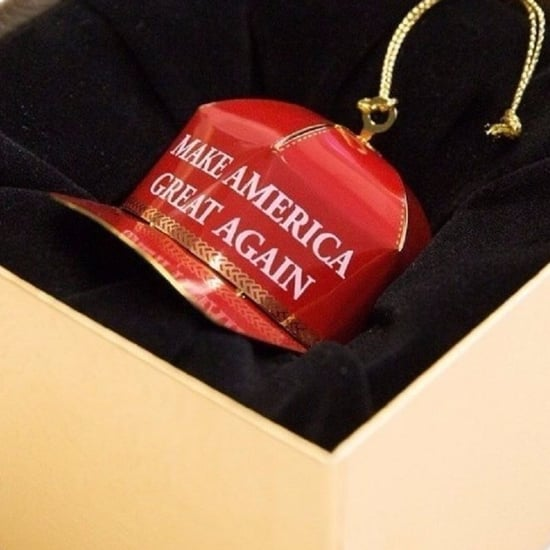Trump Make America Great Again Ornament Reviews on Amazon