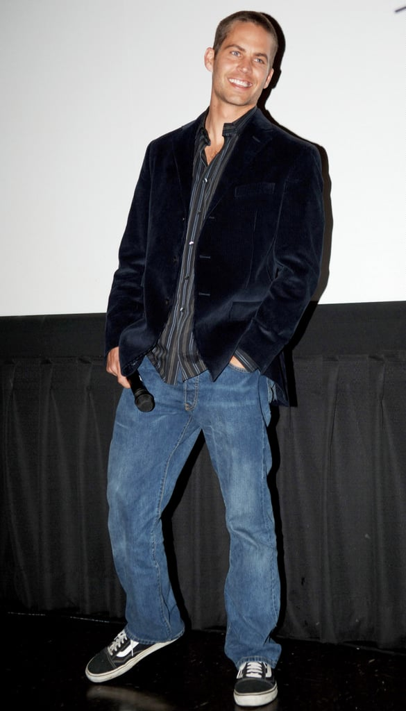 Paul Walker promoted Running Scared at San Francisco's Wonder Con in February 2006.