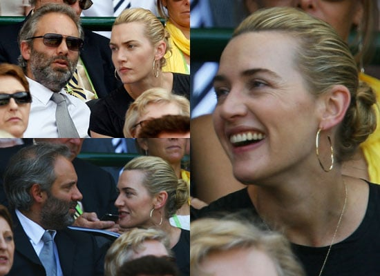 Photos of Kate Winslet and Sam Mendes at Wimbledon