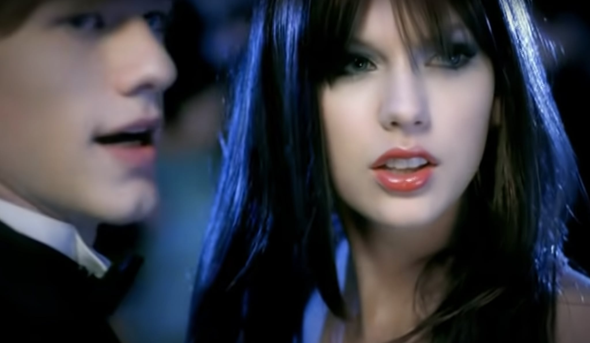 As Is The Antagonist Brunette Taylor Taylor Swift S You Belong With Me Video Is Iconic And Should Have Earned An Oscar Popsugar Entertainment Photo 24
