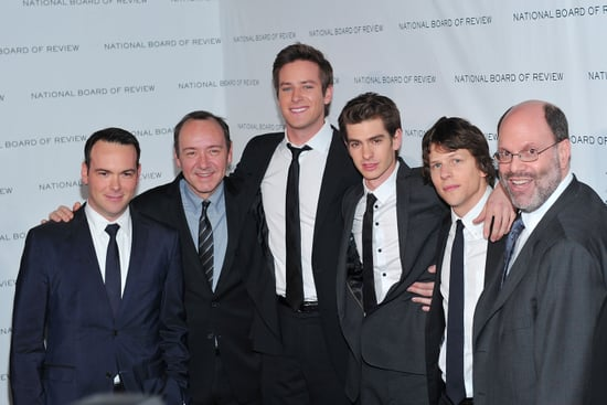 Pictures and Quotes from Jesse Eisenberg and Social Network Cast at Critics Choice Awards 2011-01-14 21:36:23