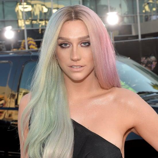 Kesha Hair and Makeup at American Music Awards 2013