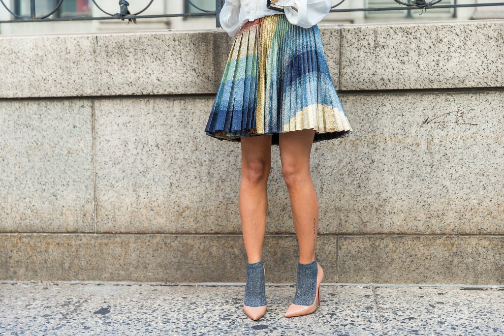 Give Your Heels an Unexpected Twist With a Pair of Socks