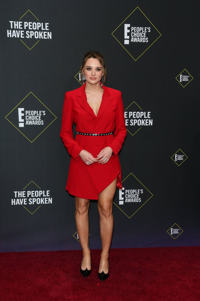 Hunter King at the 2019 People's Choice Awards