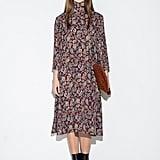 Pixie Market Paisley Midi Dress ($125)