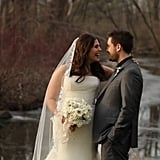 Lady Antebellum's Hillary Scott married Chris Tyrrell in Upstate New York in January.