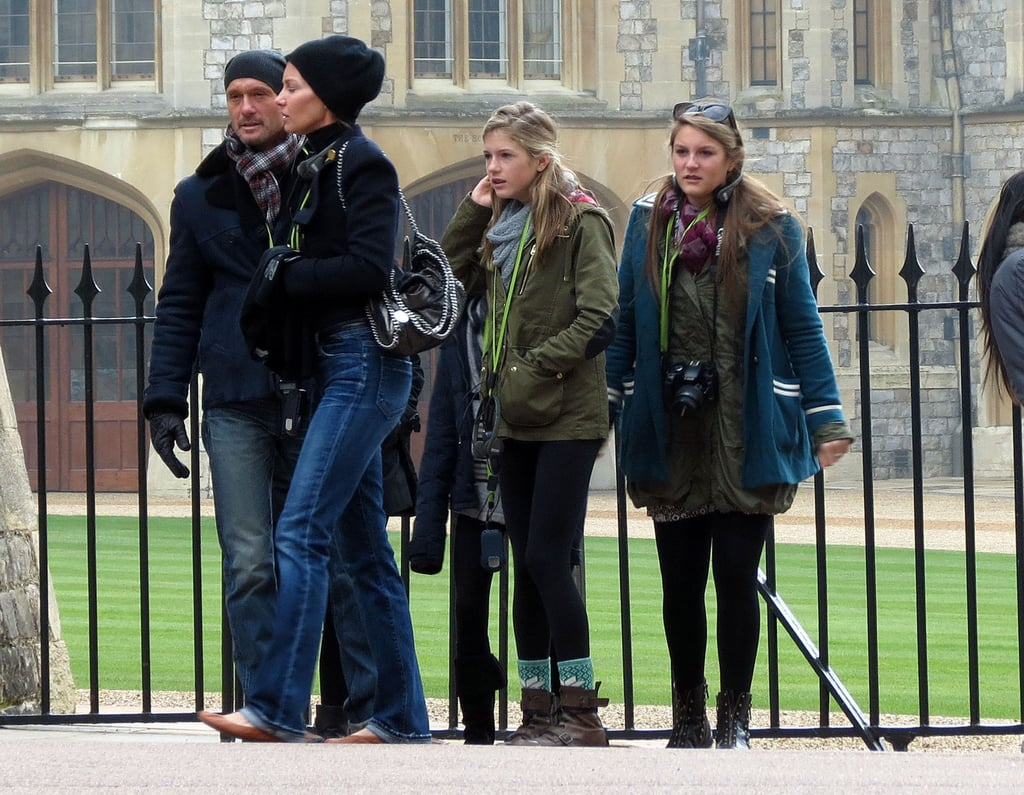 Tim McGraw and Faith Hill at Windsor Castle | Pictures