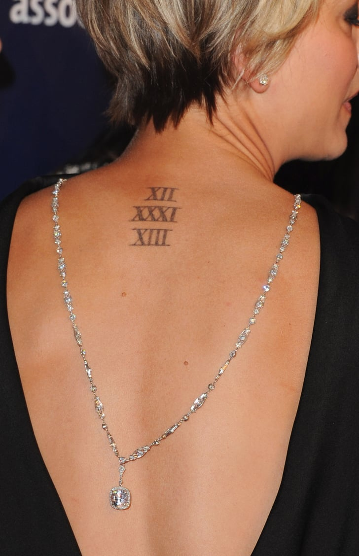 Kaley Cuoco Sweeting Celebrity Tattoo Pictures