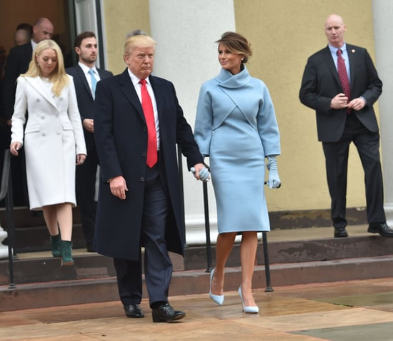Melania's Ralph Lauren Inauguration Day Look