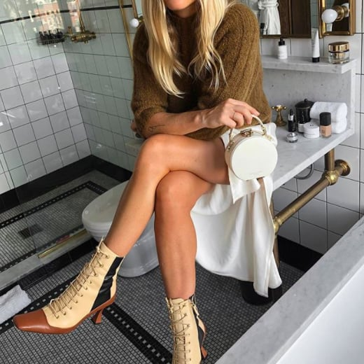 dresses with ankle boots 219