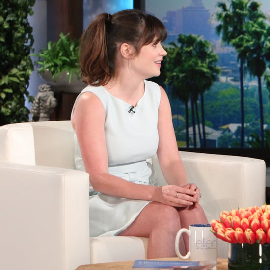 Zooey Deschanel on The Ellen DeGeneres Show March 2016