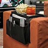6-Pocket Sofa Couch Arm Rest Organiser with Table-Top