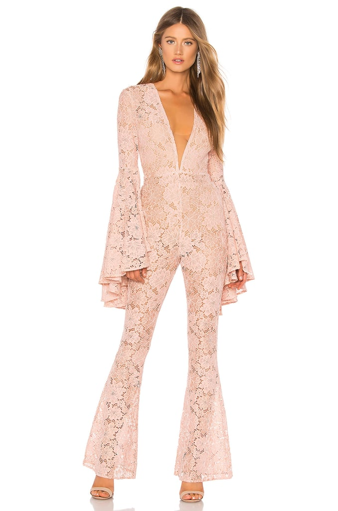 Michael Costello x REVOLVE Beauty Jumpsuit in Blush