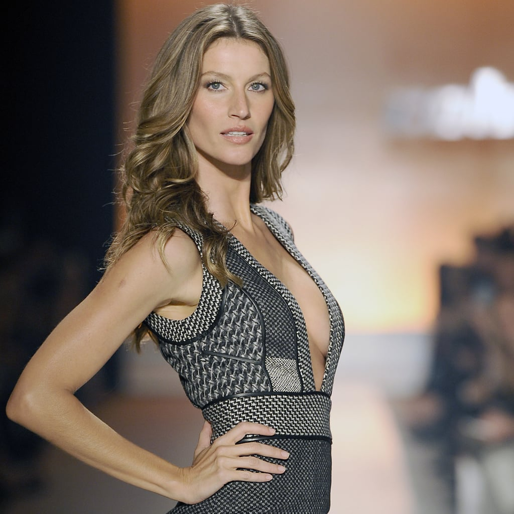 Gisele Brings Attitude (And Those Legs!) to the Runway