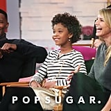 The stars of Annie — Jamie Foxx, Quvenzhané Wallis, and Cameron Diaz — stopped by Good Morning America on Thursday.