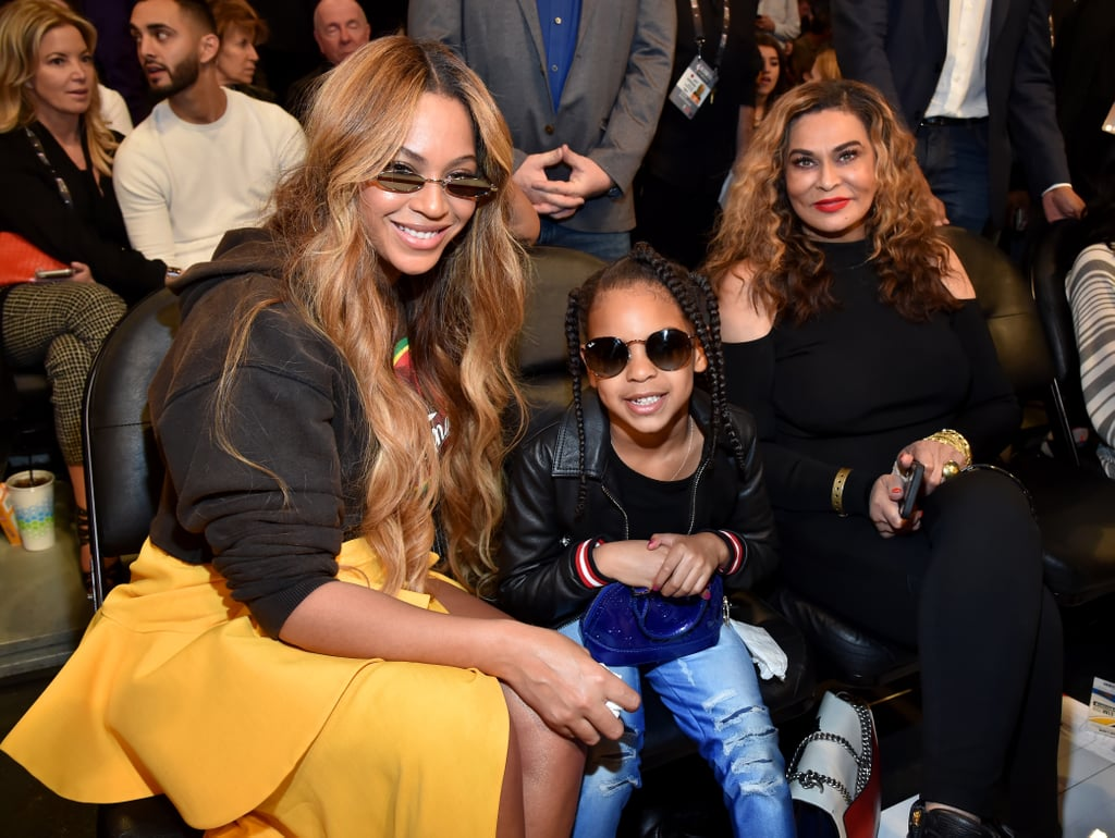 Beyoncé and Blue Ivy's Wearable Art Gala Virtual Appearance