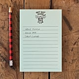Get Sh*t Done Club Notepad