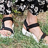 A take on Tevas that looks effortlessly cool with coordinates.