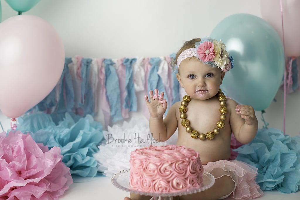 Cake Ideas For Cake Smash : Baby Cake-Smash Photo Ideas POPSUGAR Moms Photo 23