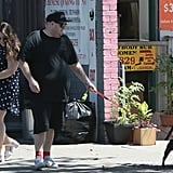 Jonah Hill and Beanie Feldstein in New York City in 2015