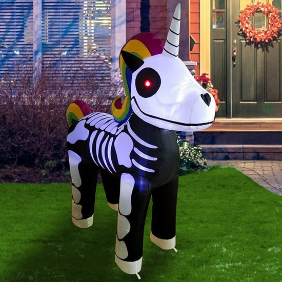 Shop This Inflatable Unicorn Skeleton on Amazon