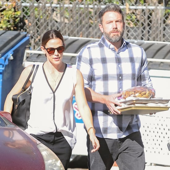 Ben Affleck and Jennifer Garner Out in LA November 2016