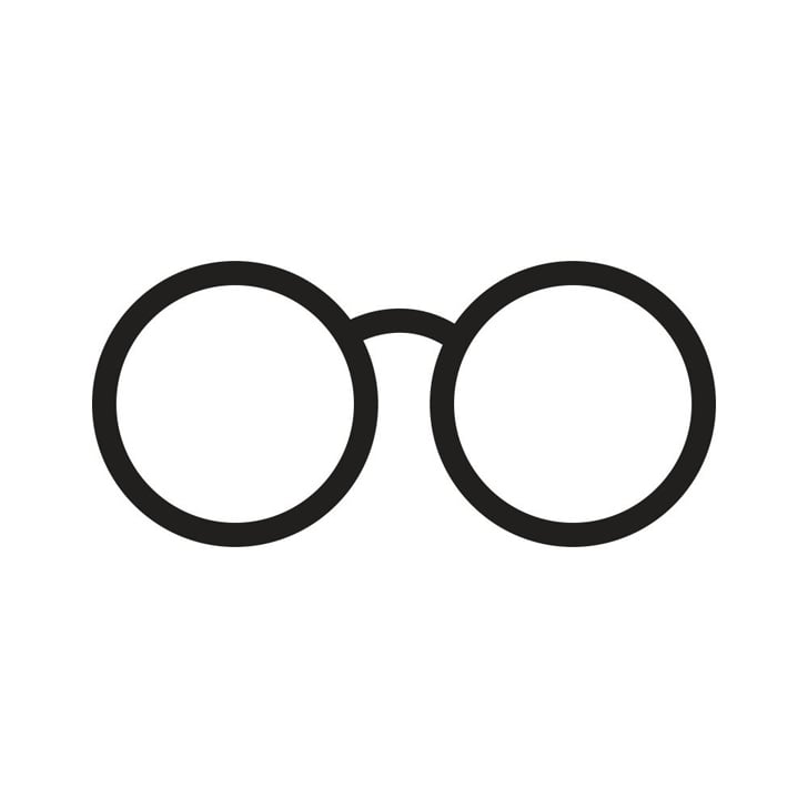 image regarding Harry Potter Glasses Printable named Free of charge Harry Potter Pumpkin Templates POPSUGAR Australia Tech