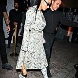 Kim Kardashian Money Outfit by Jeremy Scott 2018