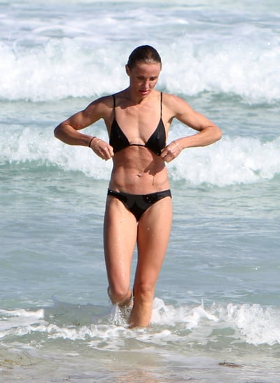 Pictures of Cameron Diaz in a Bikini With Shirtless Alex Rodriguez in Miami