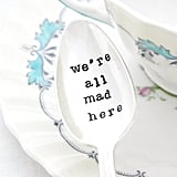 Alice in Wonderland Vintage Stamped Tea Spoon ($18)
