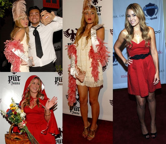 Photos of Lauren Conrad, Kim Kardashian, Lo Bosworth, Reggie Bush, JC Chasez at Pur Jeans Halloween Party in Hollywood