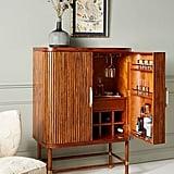 Deluxe Tamboured Media Cabinet