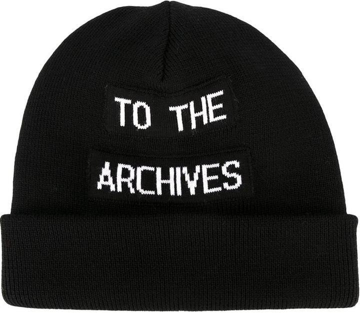 Raf Simons To the Archives Beanie (£111)