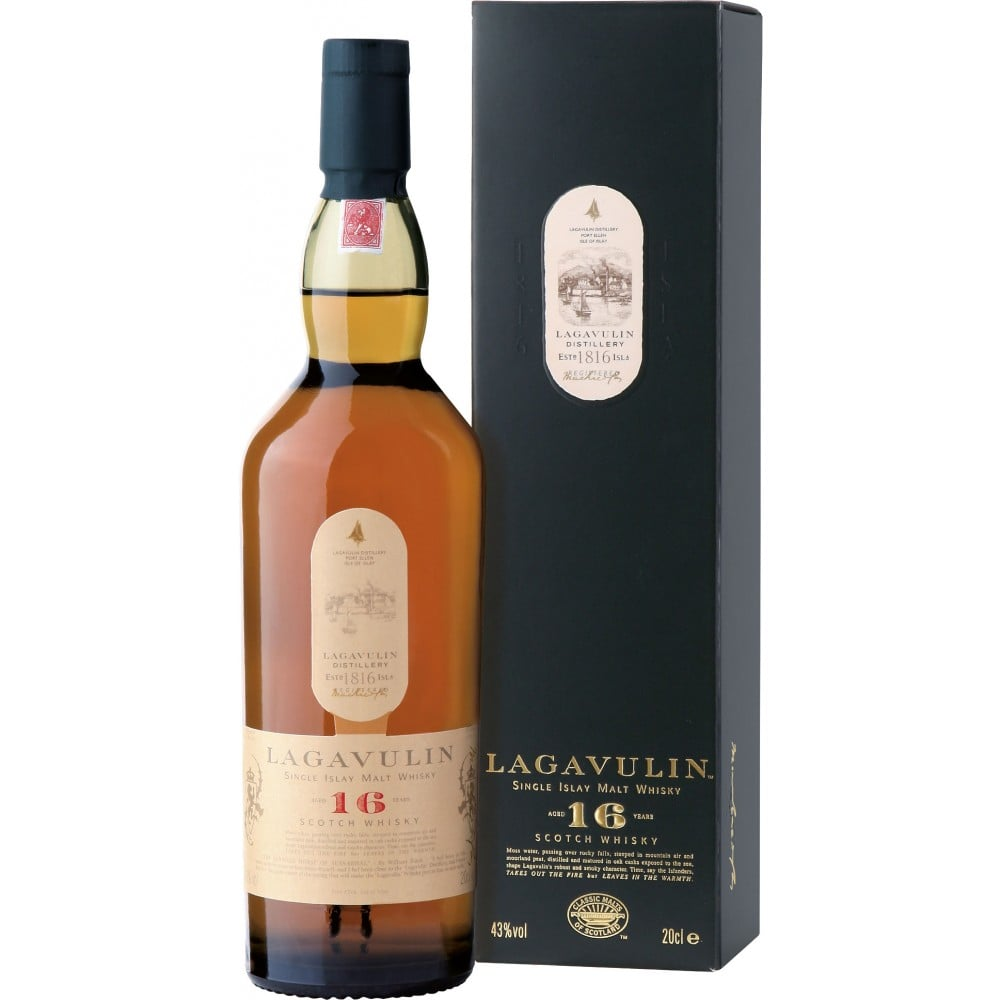 Lagavulin Scotch 16 Year ($85)