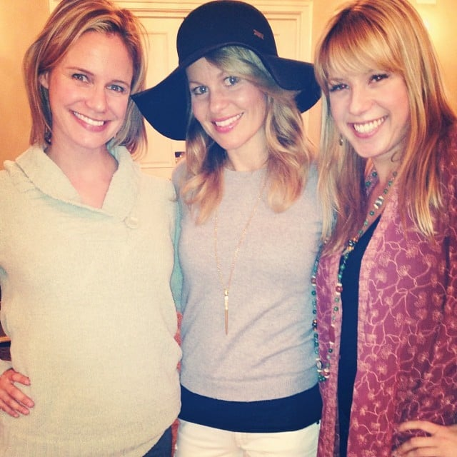 """Candace: """"Don't freak out!! Yeah, we really are #BFFs@andreabarber"""""""